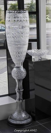 Waterford Crystal: how about that for a wine glass!?