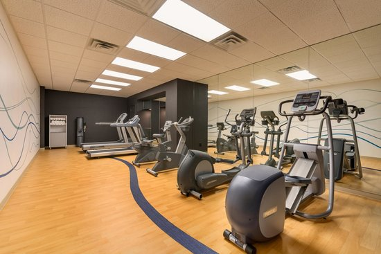 Health club gym picture of wyndham dallas suites park central