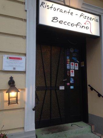 Ristorante Beccofino: Entrance