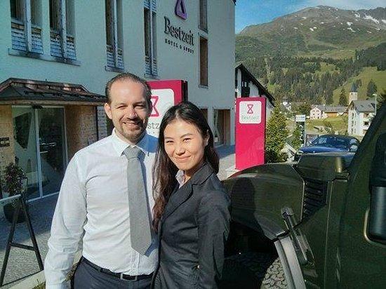 Bestzeit Lifestyle & Sport Hotel: Conrad and Olivia