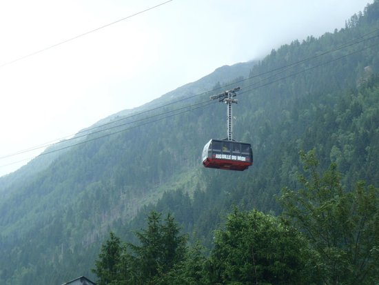 Panoramic Mont-Blanc gondola: kabel lift