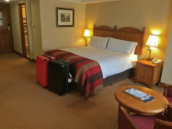 O'Callaghan Davenport Hotel: Classy room shot; nice decor