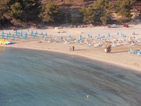 Sirenis Cala Llonga Resort: a vista do nosso quarto