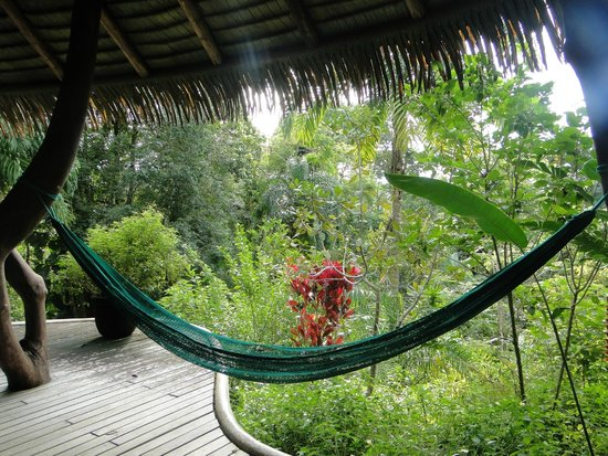 Las Nubes Natural Energy Resort: vue de la terrasse de la chambre
