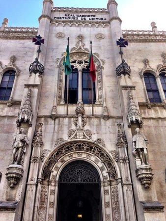 Real Gabinete Portugues Da Leitura : Real Gabinete Portuguez de Leitura (com Z)