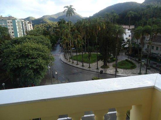 Grande Hotel Petrópolis : vista da sacada do quarto