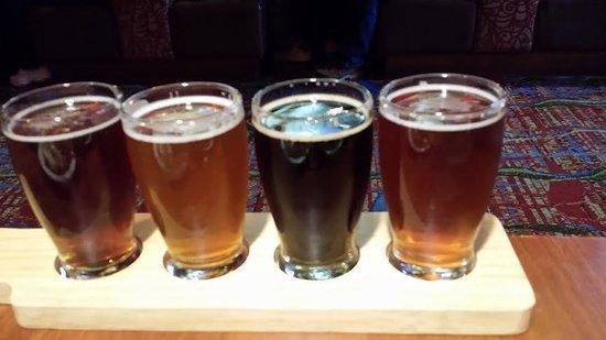 BJ's Restaurant and Brewhouse: BJ's Craft Beer Sampler