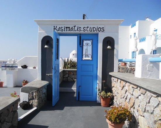 Kasimatis Studios Hotel: Entrata Kasimatis Studios