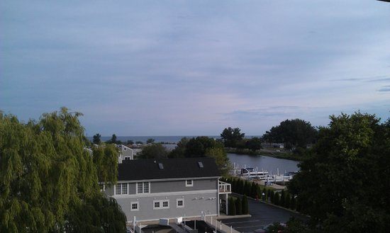 The Harbor Grand: View toward the beach from my room