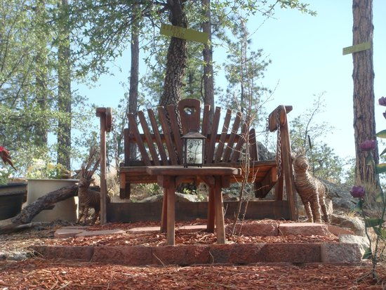 Whispering Pines Bed and Breakfast: A place to sit and talk about life...