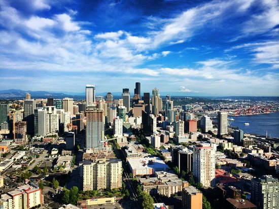 Space Needle: Seattle View