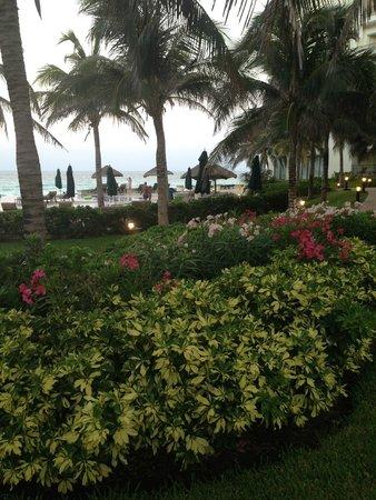 JW Marriott Cancun Resort & Spa: Beautiful landscaping