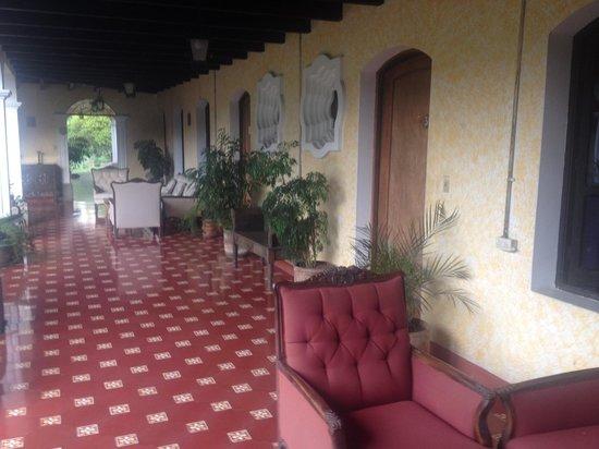 Hotel Casa de Santiago : room entrances
