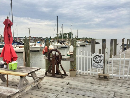 Guilford Lobster Pound: View