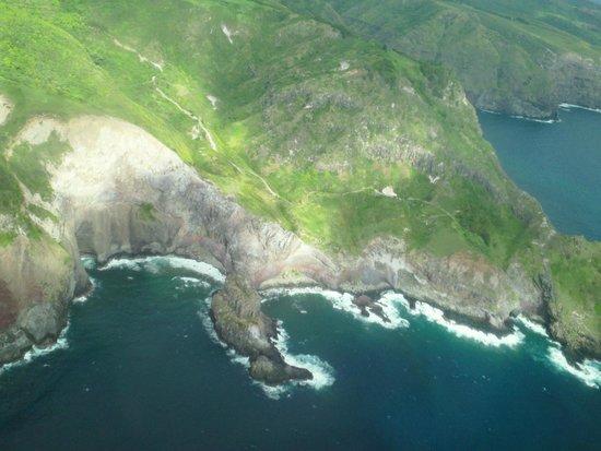 Kamaole Sands : heli view