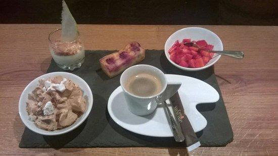 Carte blanche: Café gourmand