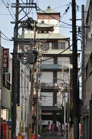 Bansho-ji Temple: ビルヂングです