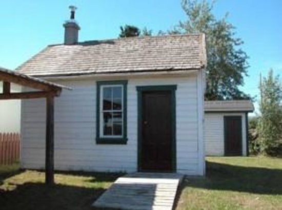 Albert Faille`s Cabin, a Village of Fort Simpson Municipal Historic Site