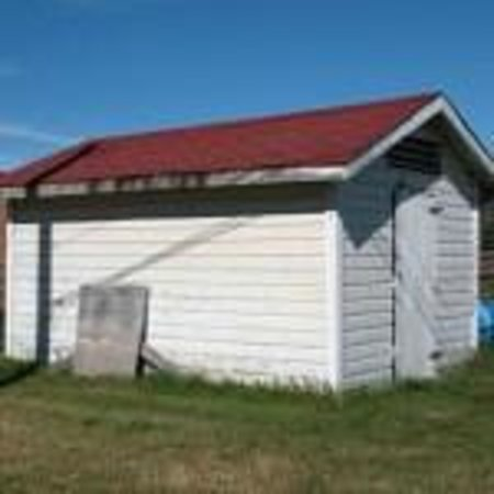 Hudson`s Bay Company Shed, a Village of Fort Simpson Municipal Historic Site
