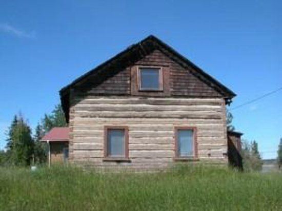 Lafferty House, a Village of Fort Simpson Municipal Historic Site