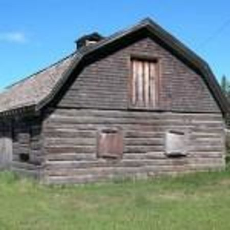 Old Barn, a Village of Fort Simpson Municipal Historic Site
