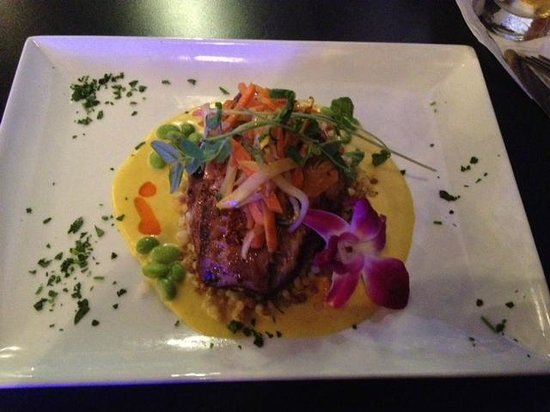 Seafood trio picture of fish tale grill by merrick for Fish tales cape coral