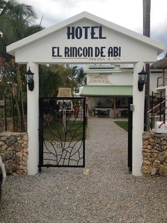 El Rincon De Abi : Entrance