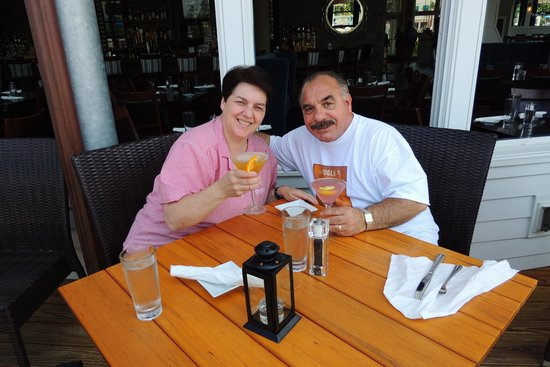 David's KPT: frankie and Maureen at davids rest. Kennebunport