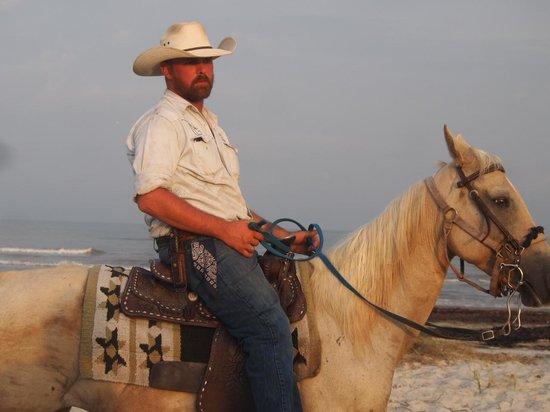 S-n-G Horseback Riding : sunset