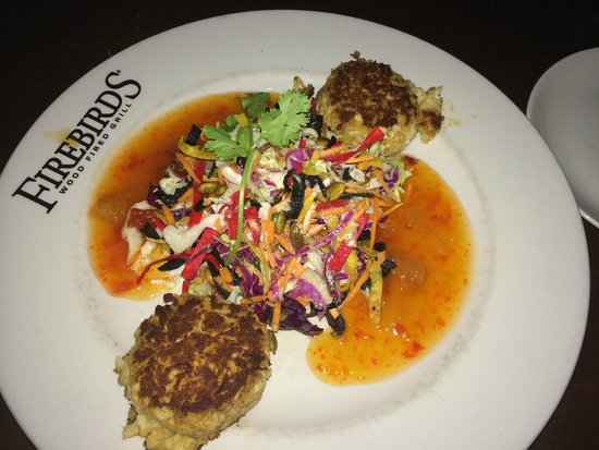 Firebirds Wood Fired Grill: Crab Cakes