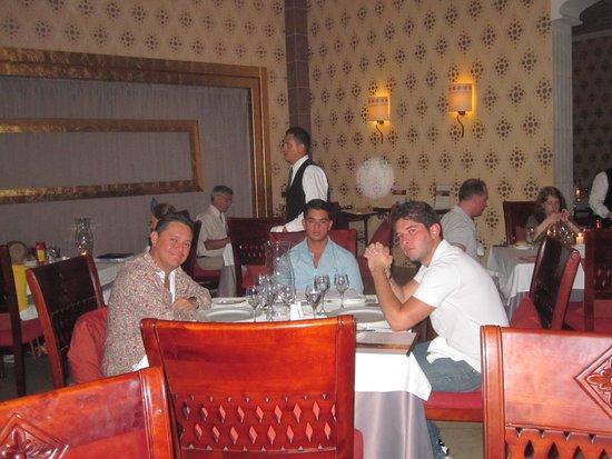 Paradisus Varadero Resort & Spa: Cenando riquisimo