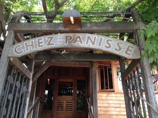 Chez Panisse: As you drive along Shattuck Ave. this is what you are looking for.