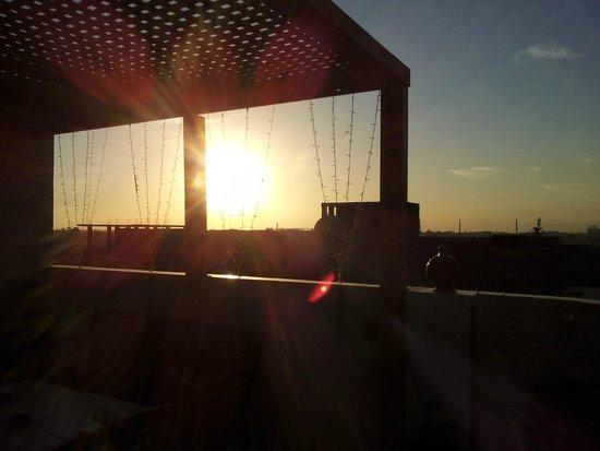 LuxorLife Apartments: roof sunset