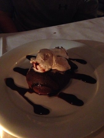 75 Main: Chocolate lava cake