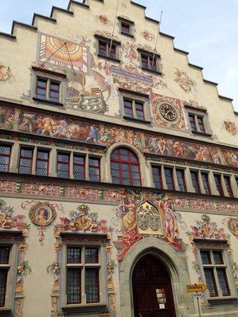 Historic Town Hall: Maravilhosas pinturas