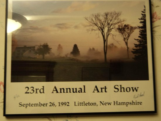 Thayers Inn: Picture from Annual Art Show, 1992