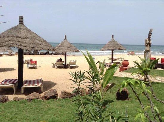 Lookea Royal Baobab : plage avec le bar