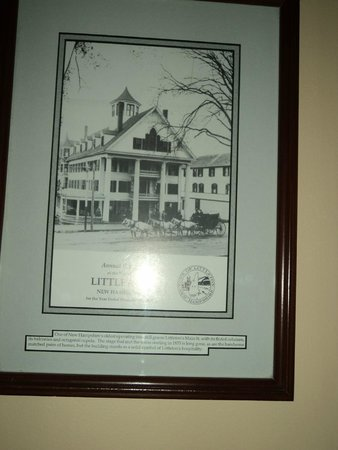 Thayers Inn: From back in the day