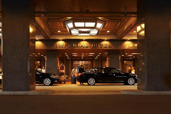 Imperial Hotel Tokyo: Main Entrance