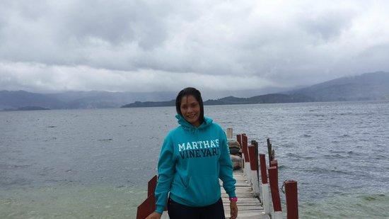 Cabaña Buenavista lago de Tota: hermoso paisaje
