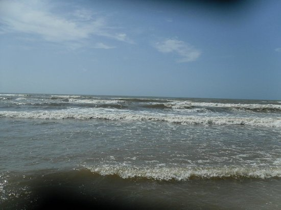 Padre Island National Seashore: beach front view