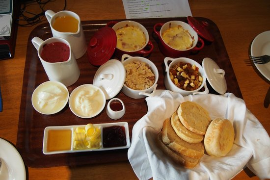 Saltair B & B : Day 1 breakfast (for 2 persons)