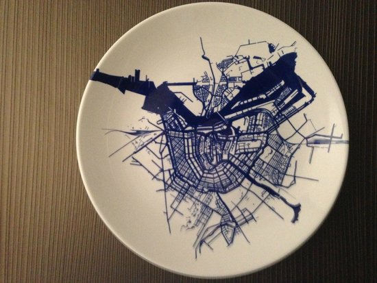 Radisson Blu Hotel, Amsterdam: A map of Amsterdam