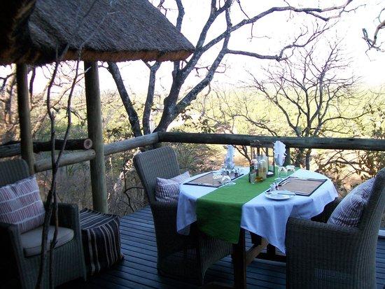 Ghoha Hills Savuti : Great Dining