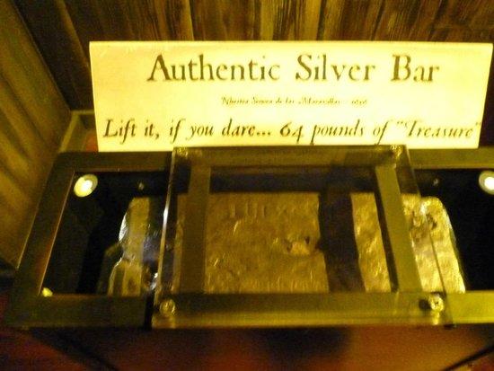 Key West Shipwreck Treasure Museum : Authentic Silver Bar