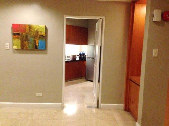 The Linden Suites: kitchen