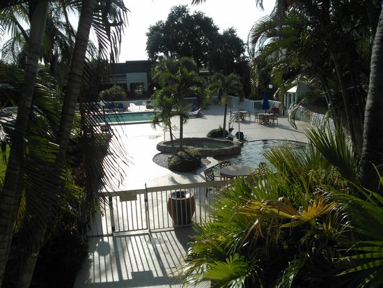 Hampton Inn Clearwater Central : early morning