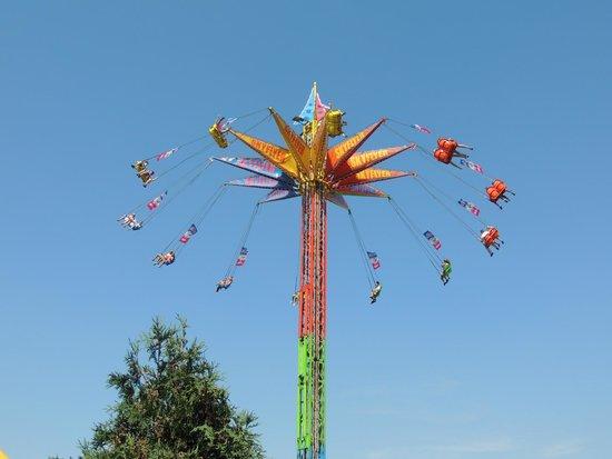 Minnesota State Fair : Sky High Swings at MN State Fair