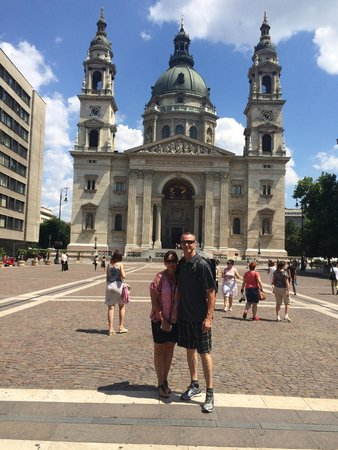 Budapest Bike Breeze: Saint Stephen's Basilica