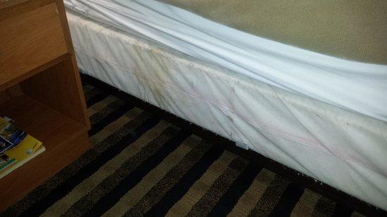 Rodeway Inn: Dirty Linens